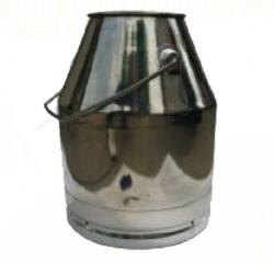 BIDON INOX PENTRU COLECTARE MIXT 30 L